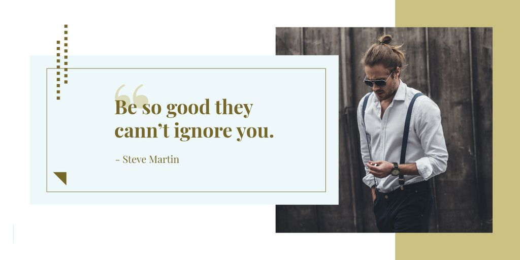 Citation about how to be good — Create a Design