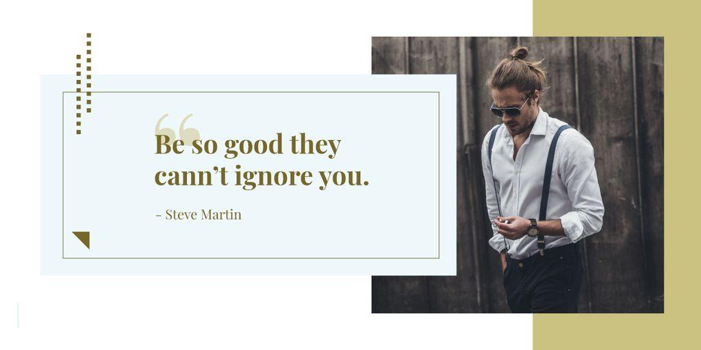 Citation about how to be good — Créer un visuel