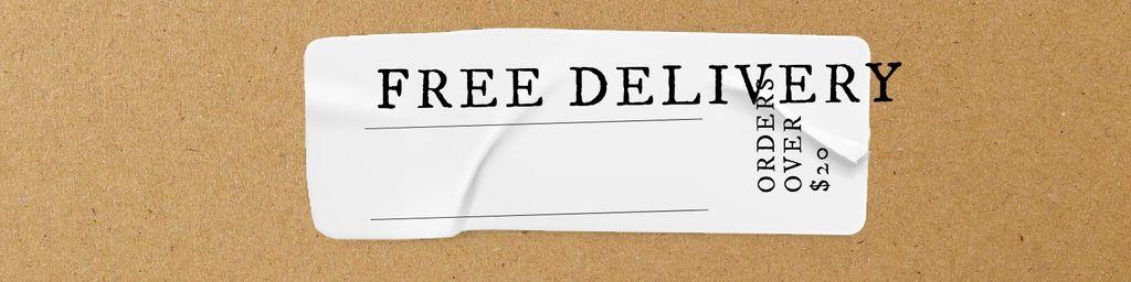 Delivery services promotion — Crear un diseño