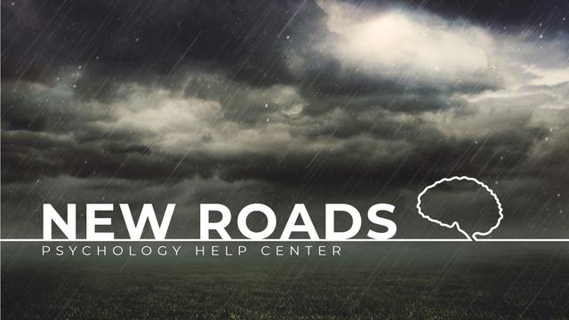 Plantilla de diseño de Dark Stormy Clouds and Lightning Full HD video