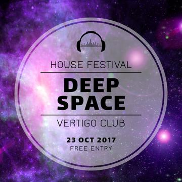 House music festival announcement