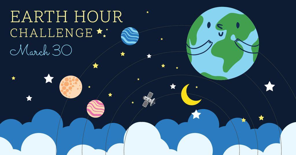 earth hour banner — Maak een ontwerp