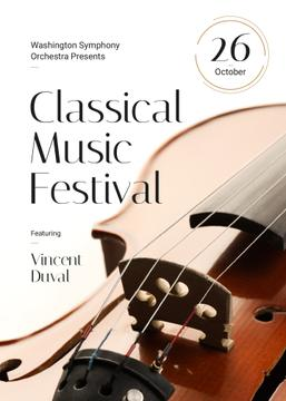 Classical Music Festival Violin Strings