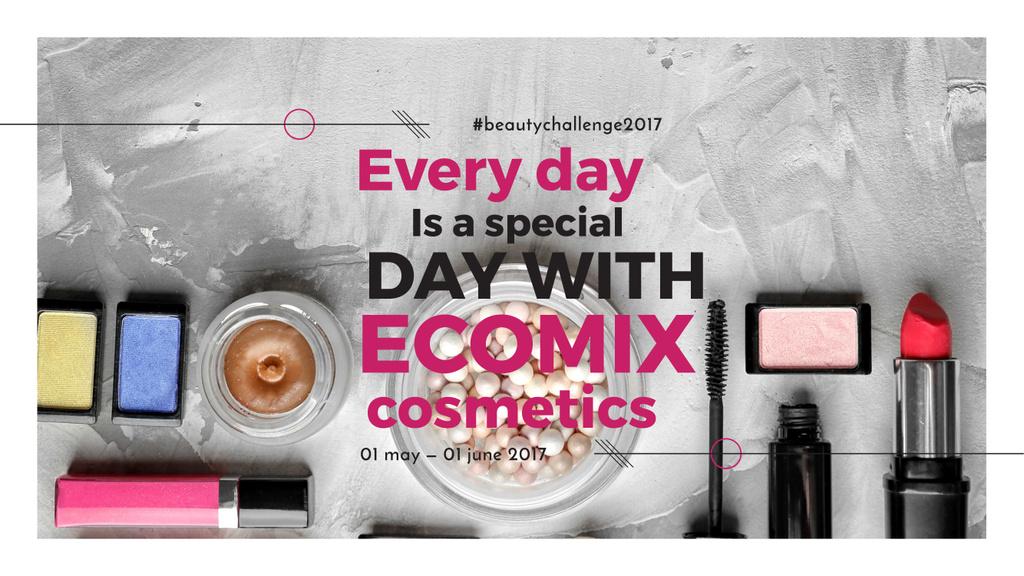 Cosmetics Set Offer — Modelo de projeto