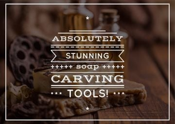 Carving tools advertisement