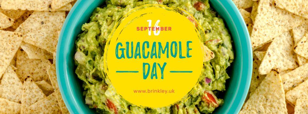 Mexican guacamole dish Day — Создать дизайн