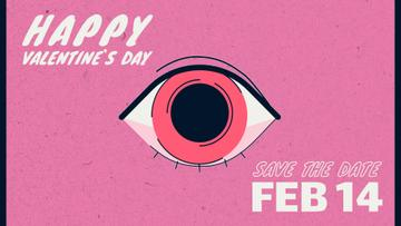 Lover's eye on Valentine's Day