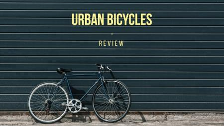 Review of urban bicycles Presentation Wide Modelo de Design