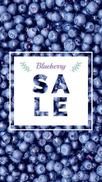 Raw ripe Blueberries sale