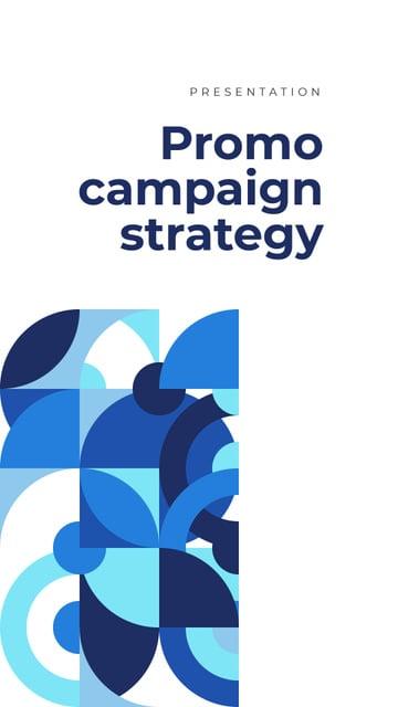 Template di design Marketing agency services offer Mobile Presentation