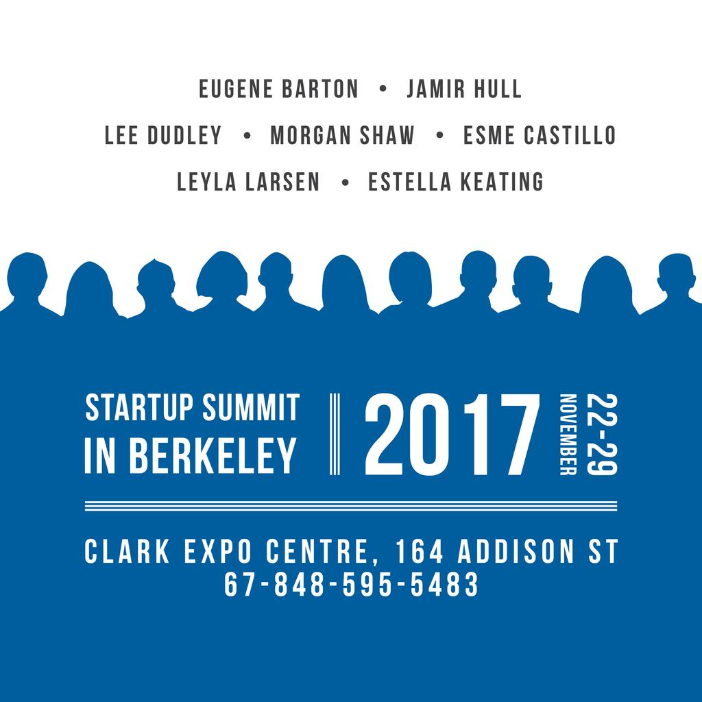 Startup summit in Berkeley — Create a Design