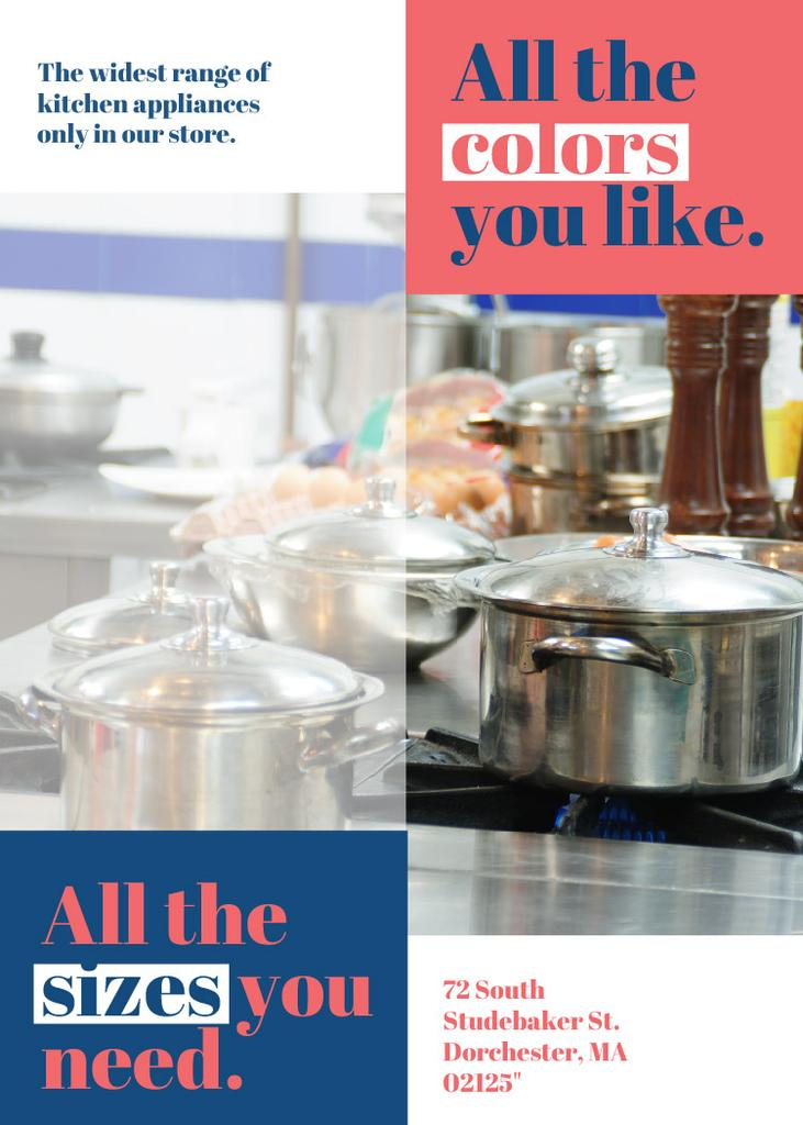 Kitchen appliances store — Maak een ontwerp
