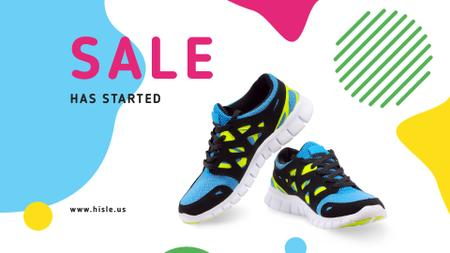 Template di design Pair of athletic shoes Full HD video