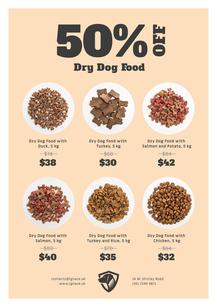 Pet Food Sale Announcement — Créer un visuel