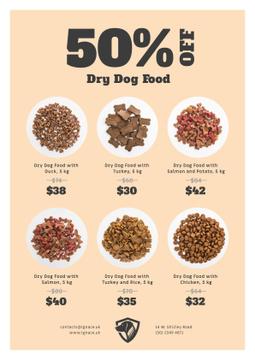 Pet Food Sale Announcement