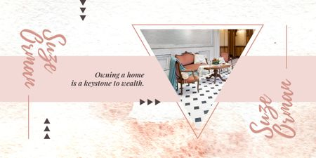 Plantilla de diseño de Cozy interior in light colors Image