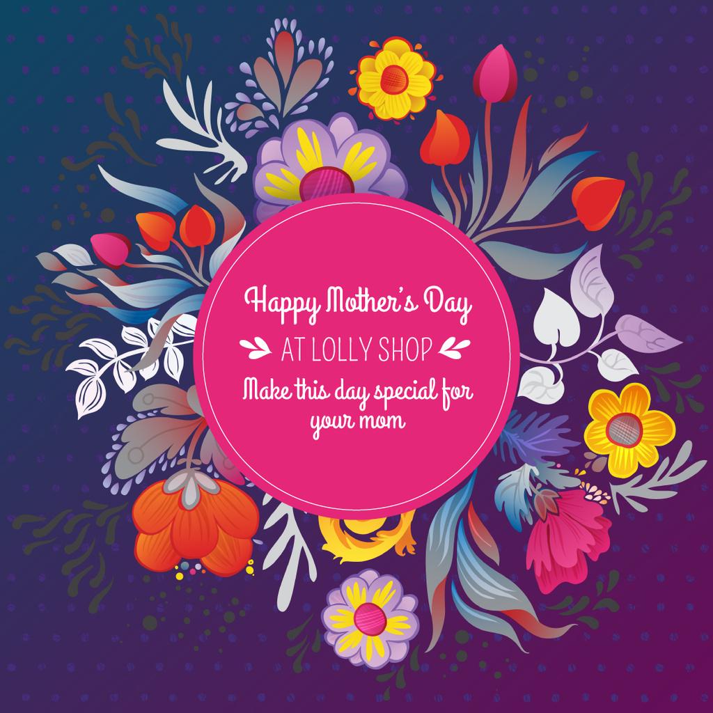 Mother's Day sale on Spring Flowers — Créer un visuel