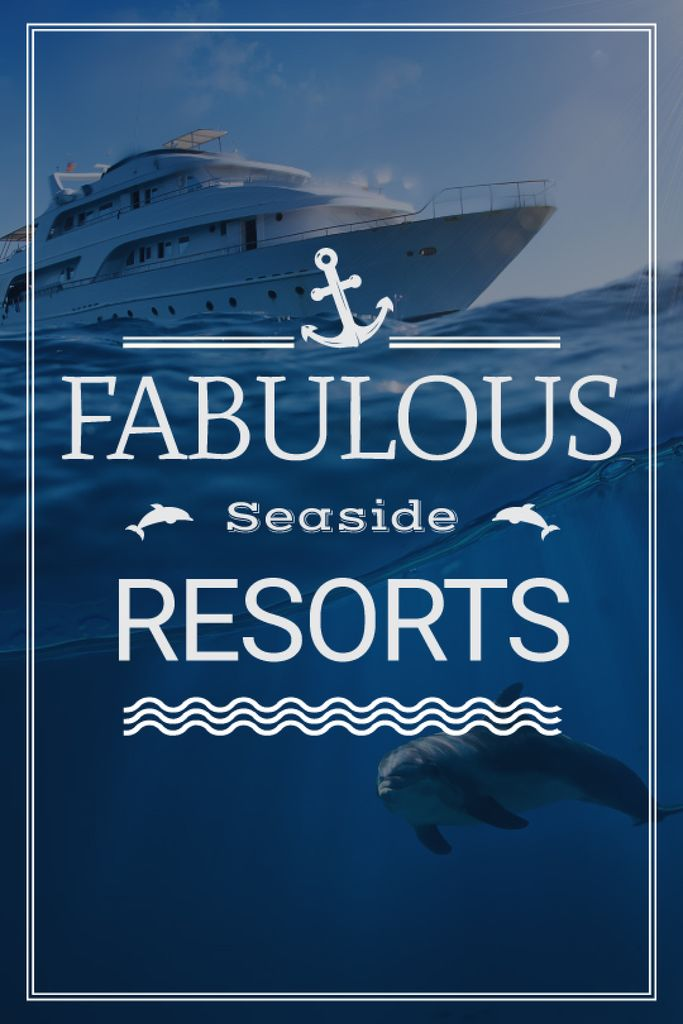 fabulous seaside resorts banner — Crear un diseño