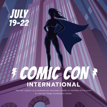 Comic Con International event Announcement