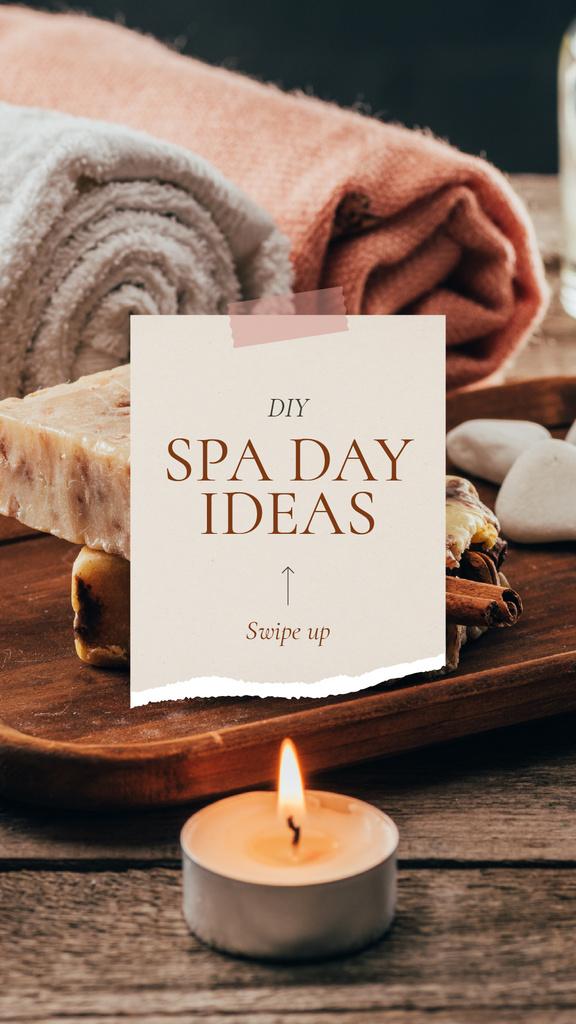 Spa Salon Offer Skincare Products and Soap — Crear un diseño