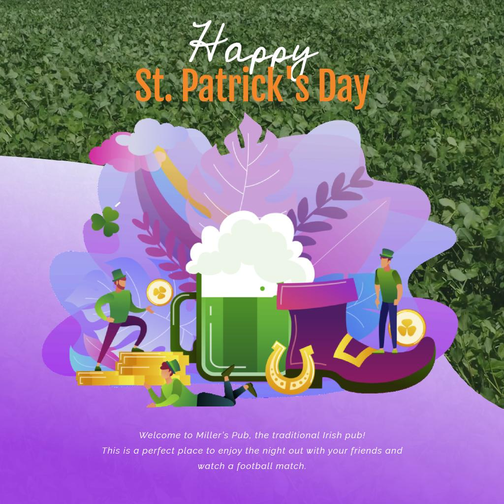 Saint Patrick's celebration attributes — Создать дизайн