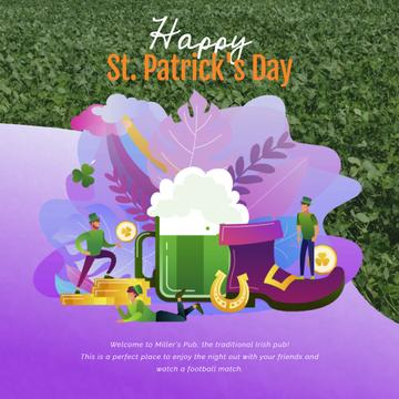 Saint Patrick's celebration attributes
