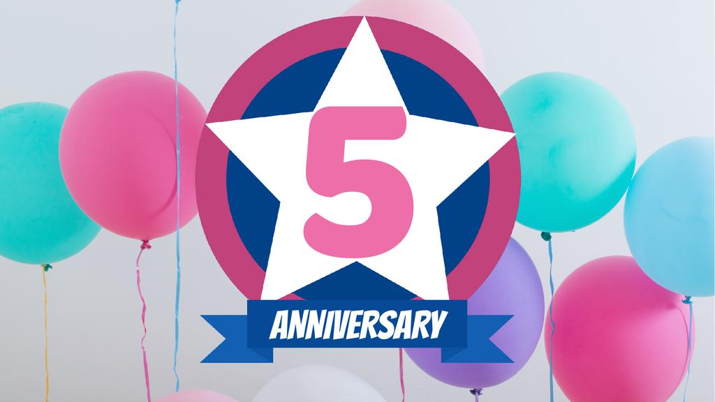 Anniversary celebration template - Vytvořte návrh