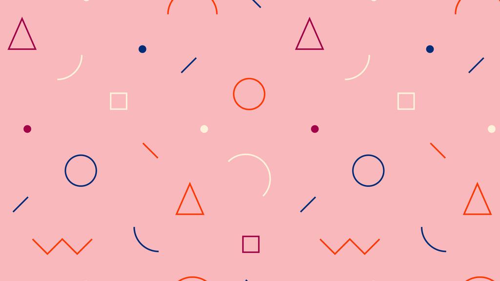 Simple retro pattern in pink — ein Design erstellen