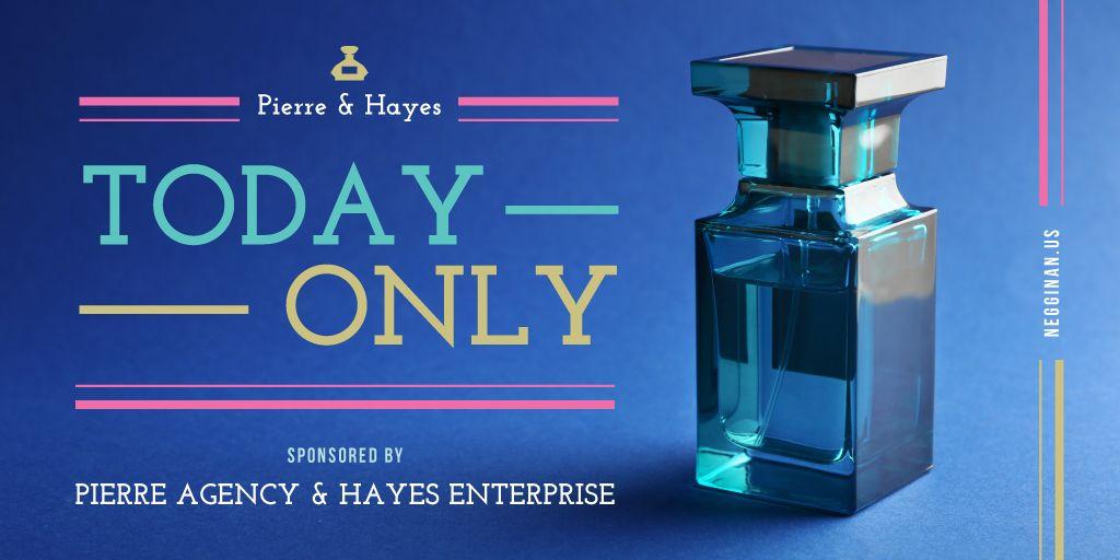 Glass bottle of perfume — Створити дизайн