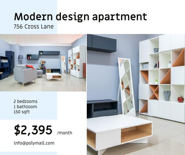 Cozy Living Room Interior design Facebook – шаблон для дизайна