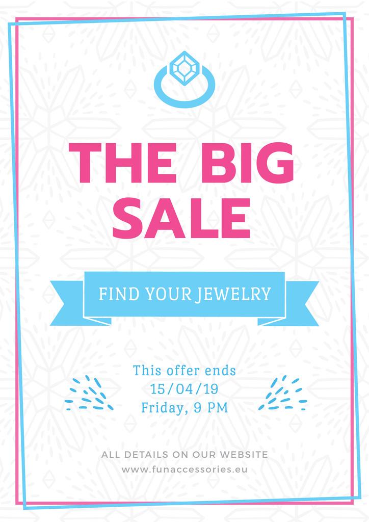 Jewelry big sale advertisement — Створити дизайн
