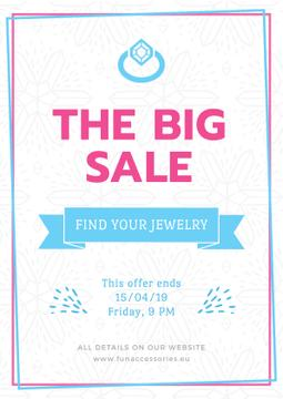 Jewelry big sale advertisement