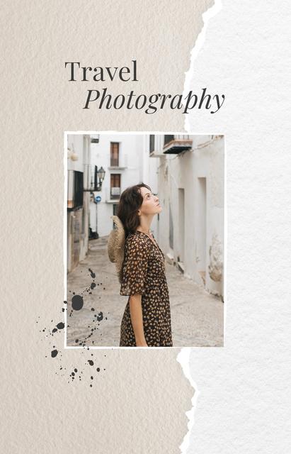 Designvorlage Girl walking in old city für IGTV Cover