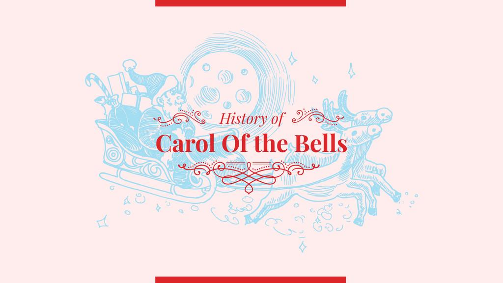 History of Carol of the bells — Crea un design