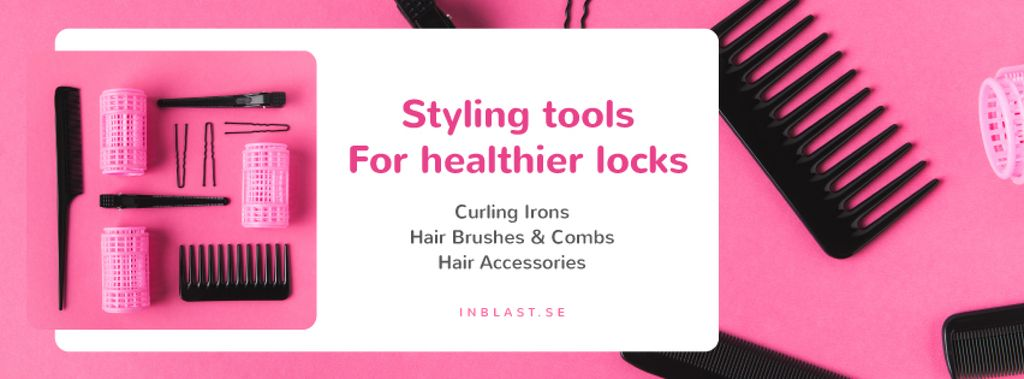 Hairdressing Tools Sale in Pink —デザインを作成する