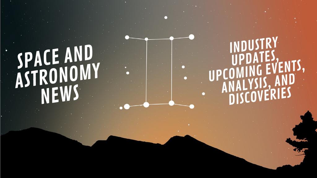 Night sky with Gemini constellation — Crea un design