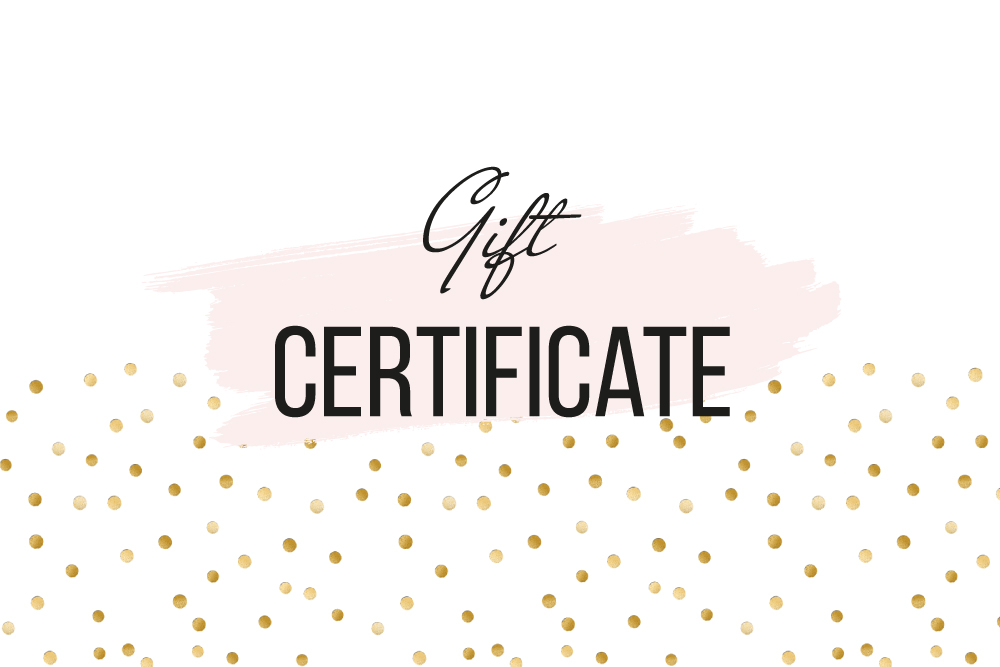 Template For Gift Certificates from crello.com