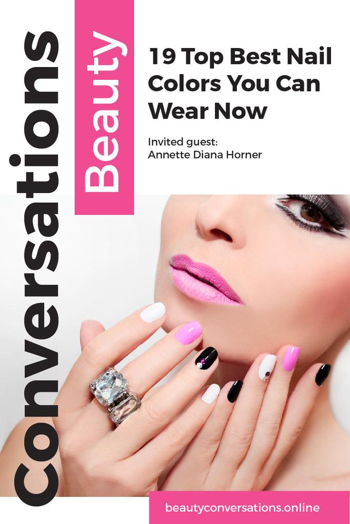 Beauty conversations website — Créer un visuel