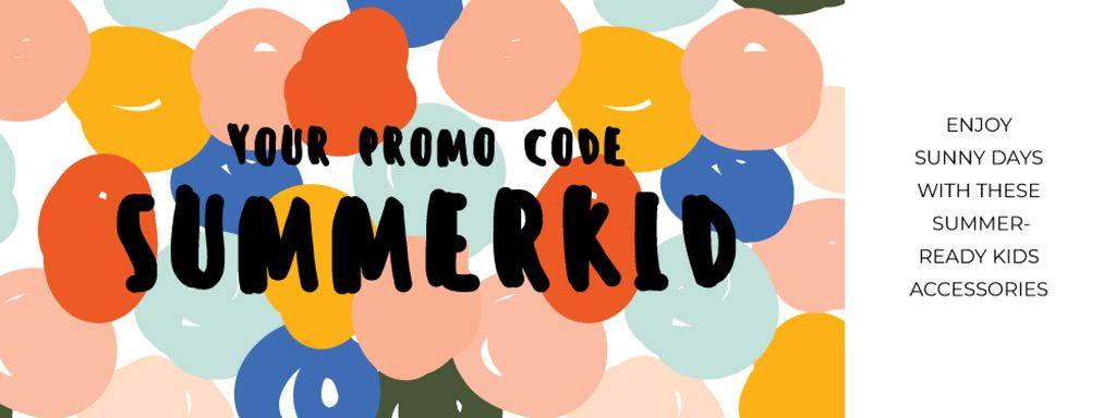 Bright Offer on Kids Accessories — Crear un diseño