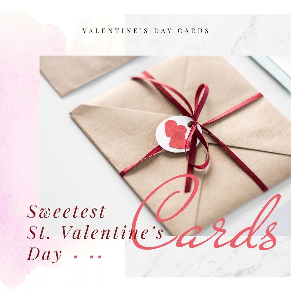Envelope with hearts sign — Створити дизайн