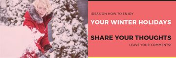 Ideas for winter holidays