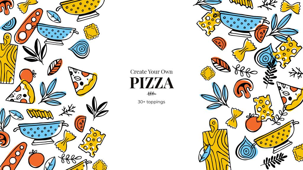 Cooking Italian pizza — Create a Design