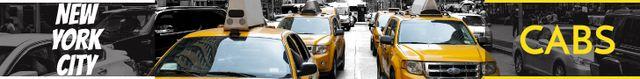 Modèle de visuel Taxi Cars in New York - Leaderboard