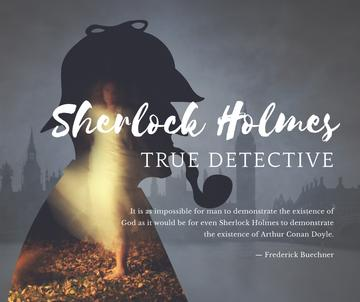Sherlock Holmes quote on London view