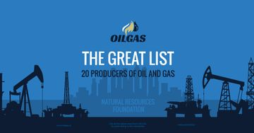 Producers of oil and gas banner