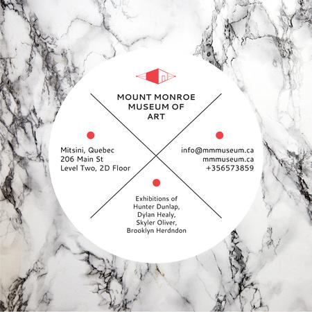 Museum of Art Announcement Instagram – шаблон для дизайну