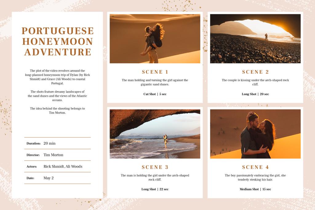 Couple in Honeymoon Adventure — Создать дизайн