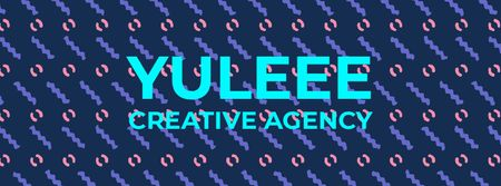 Ontwerpsjabloon van Facebook Video cover van Creative Agency Ad Flashing moving elements