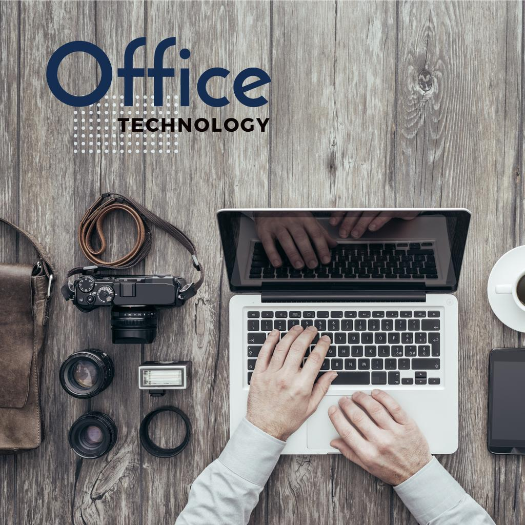 Office technology poster — Create a Design