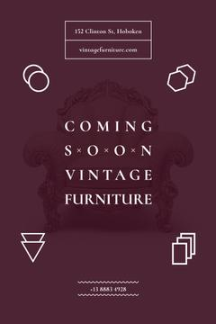 Antique Furniture Auction Luxury Armchair | Pinterest Template